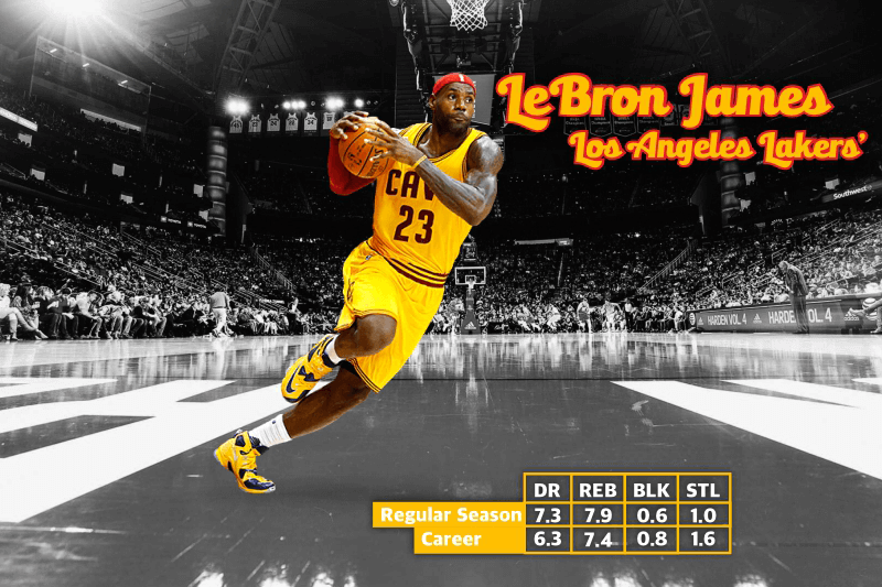 NBA Defensive Player of the year - LeBron James