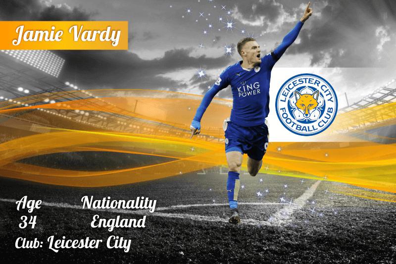 Premier League Top Scorers - Jamie Vardy